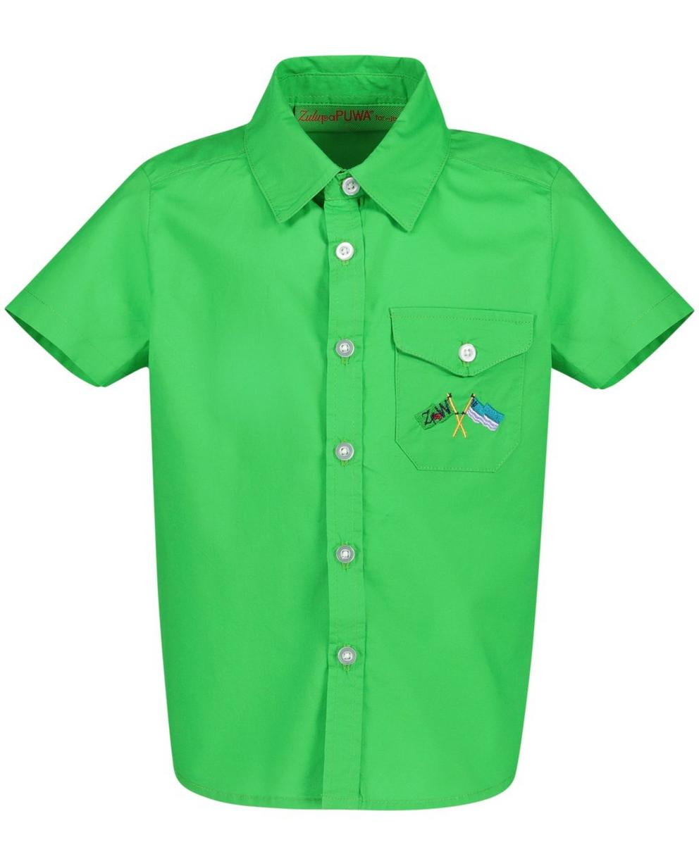 Chemises - Grasgroen hemd